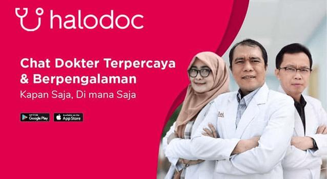 halodoc aplikasi dokter
