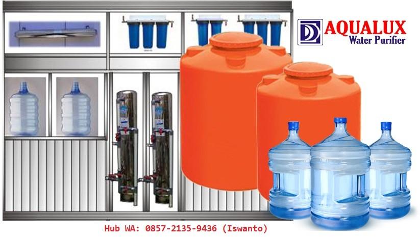 distributor mesin air minum isi ulang aqualux