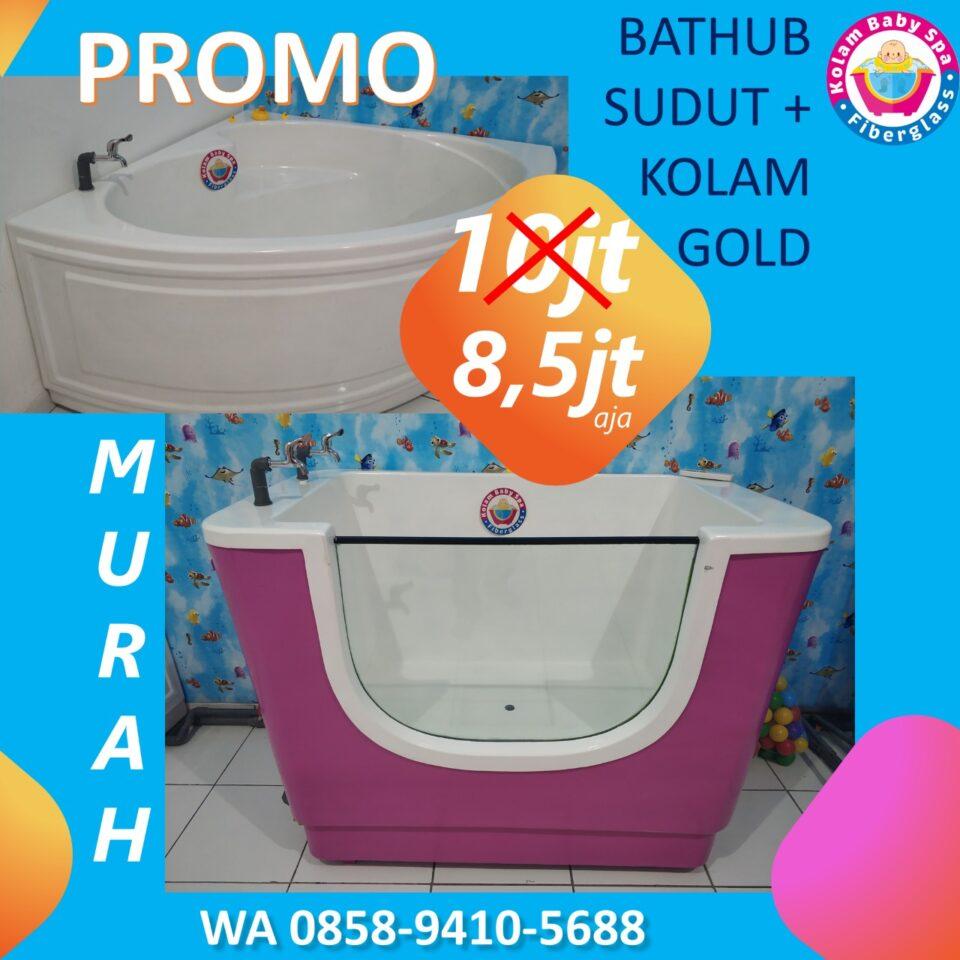 Promo Kolam Baby Spa Fiberglass murah